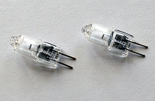 2pcs ESB FHN 6V 20W RSE43 Donar Bulb for AO-Reichert 1120 – BAIA Instaview 270 Quartz Dual , Regular and Super 8 Editor 86490 50-60 CPS 40W - Bausch Lomb 31-32-16 – Biostar 1820 Microscope Lamp (Bulb Light Lamp Reichert)