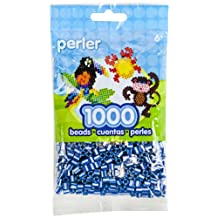 Perler Beads Pearl Stripe Beads, Royal Blue