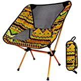 WAOBE Folding Chair Outdoor Multicolor Multifunctional Fishing Chair Director Chair Aluminum Alloy Chair Ultra Light Portable