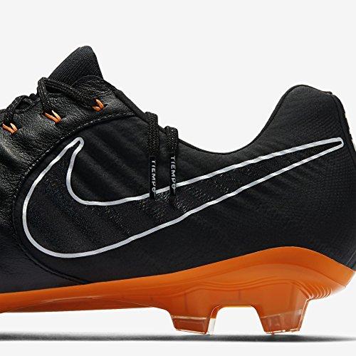 Nike Herren Legend 7 Elite Fg Fußballschuhe Nero / Totale Arancione-nero-bianco