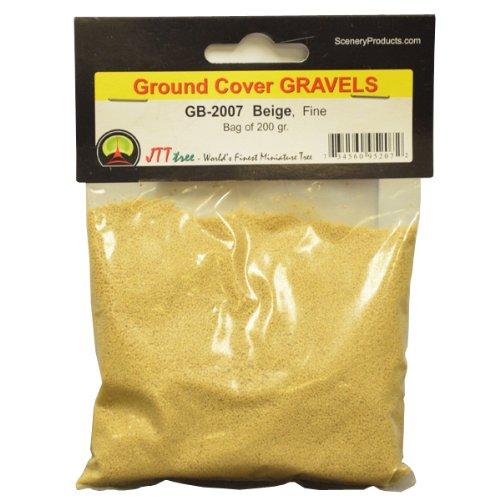 JTT and Scenery Products Ballast and JTT Gravel, Beige, Fine/200gm 75f53d