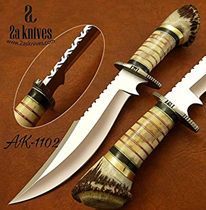Amazon.com: Cuchillos de 2as Hermosos cuchillos hechos a ...