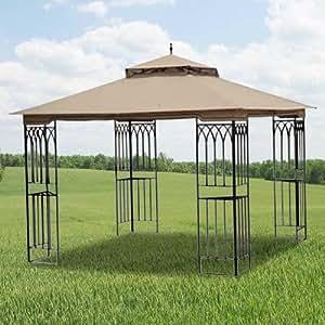 Amazon.com : Steel Frame Gazebo Replacement Canopy Top ...