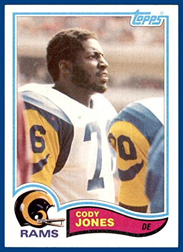 1982 Topps #381 Cody Jones LOS ANGELES RAMS SAN JOSE STATE (nrmt)]()