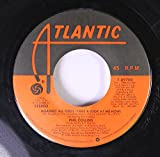 Phil Collins 45 RPM Against All Odds (Take A Look At me Now) / The Search (Main Title Them from Against All Odds)