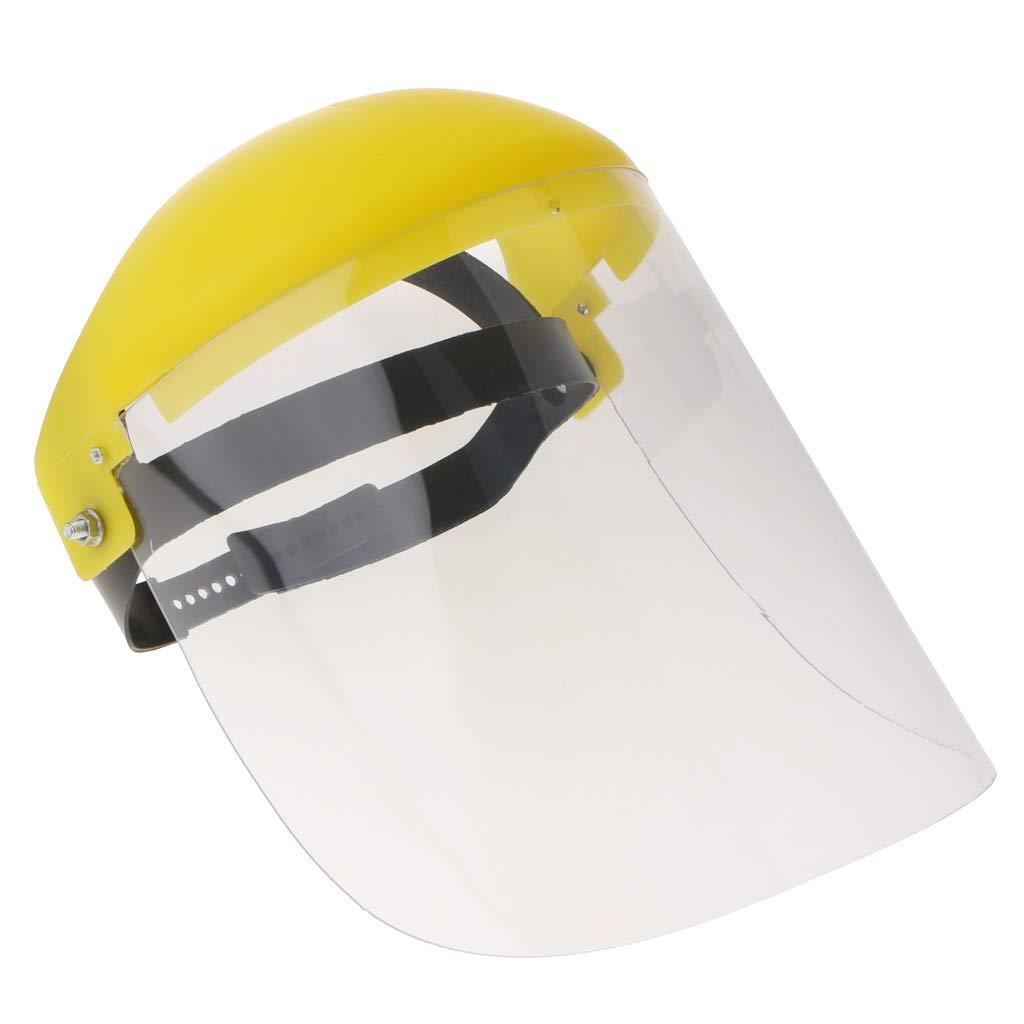 FLAMEER Máscara de Protección para Soldadura Casquillo Protector de Material PC - Transparente: Amazon.es: Bricolaje y herramientas