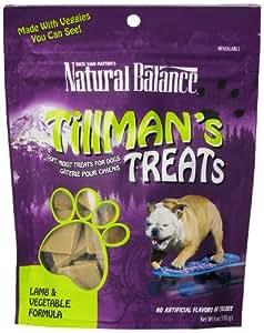 Natural Balance Training Tips Lamb Vegetable Dog Treats ( 6-Ounce Bag)