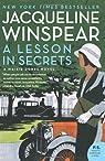A Lesson in Secrets par Winspear
