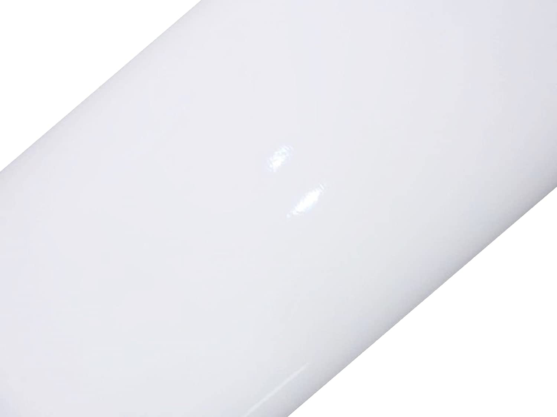 Glossy White 45cm x 1m self adhesive vinyl film d-c-fix/® Sticky Back Plastic ORDER PER METRE 200-1273