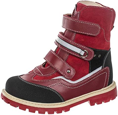 Orthopedic Boots TW-503 Autumn Winter Outdoor Hight Top Insulated Shoes Three Fasteners Baby Toddler Kids Boys Girls