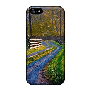 Hot Road To Spring L First Grade Tpu Phone Case For Iphone 5/5s Case Cover