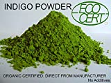 INDIGO POWDER ORGANIC CERTIFIED 500 gms Direct from Manufacturer 2018 Crop Premium