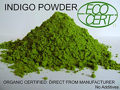 INDIGO POWDER ORGANIC CERTIFIED 500 gms Direct from Manufacturer 2019 Crop Premium
