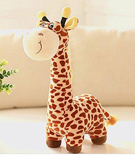 Dalino Soft Stuffed Toys Cuddly 40cm Giraffe Deer Soft Plush Toy Animal Dolls Baby Kids Birthday Party Gift(Yellow) by Dalino