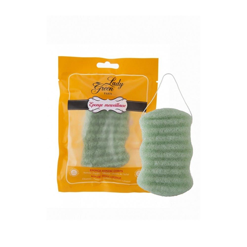LADY GREEN Eponge Konjac pour Merveilleuse Corps Aloe Vera easy_50232