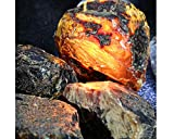 40g Rough Rocks Natural Stones for Arts, Crafts, Tumbling, Cabbing, Polishing, Wire Wrapping, Wicca and Reiki Crystal Healing (Amber Rough Stone)