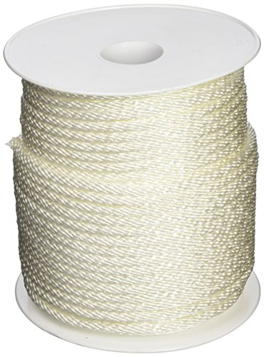 (Wellington 10124 Lehigh Group Solid Braid Nylon Rope, 1/4-inch by 200-foot, White)