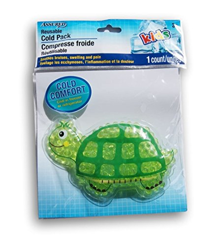 Kids Cold Pack - Turtle - 5 Inches (Cold Turtle)