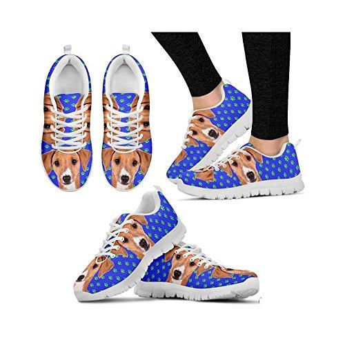 Azawakh Shoes Casual Cute Dog White Women's Shoetup Running Print AqC1n5
