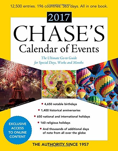 Chases Calendar Events 2017 Go product image