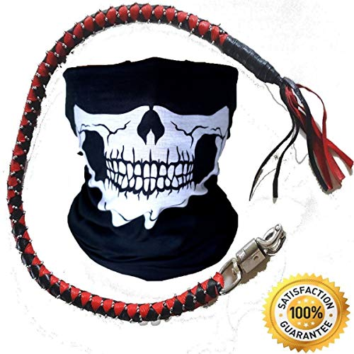 Studs Motorcycle - Power Auto Get Back Whip Motorcycle - Premium Dealer Quality Real Cowhide Leather Biker 36