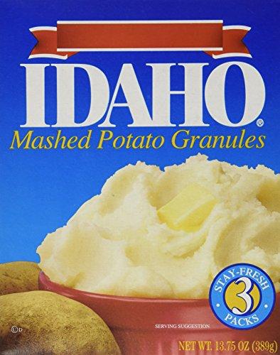 Pillsbury Idaho Mashed Potatoes, 13.75-Ounce (Pack of 6)