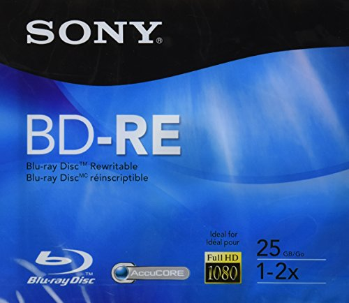 Sony BD-RE Rewritable Single Layer Disc - 25gb, 2X