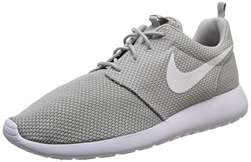 Nike Men's Rosherun Wolf Grey/White Running Shoe 10 Men US
