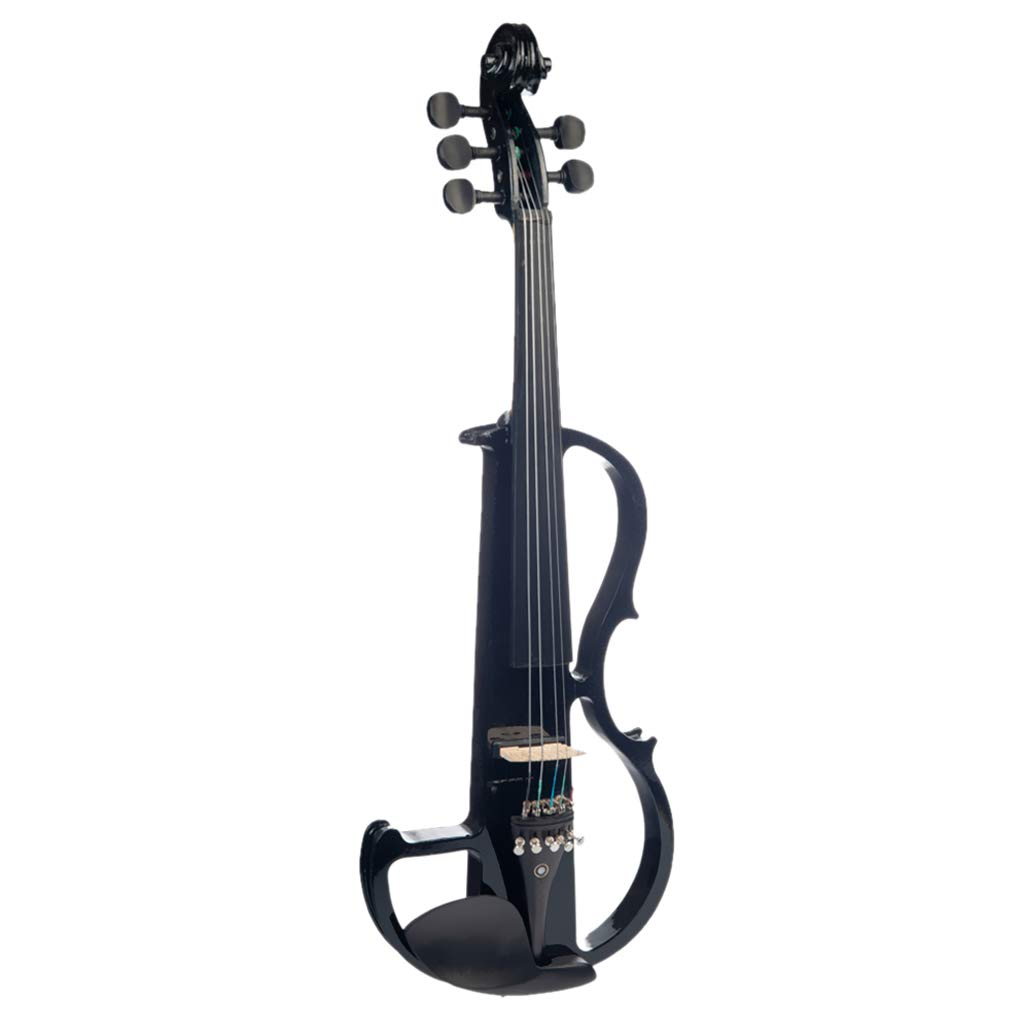 CUTICATE 4/4 Size Electric Violin Kit Musical String Instrument, 5-String