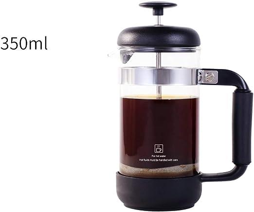 Cafetera de estilo francés Cafetera de té Máquina de café para el hogar Cafetera de té Taza de filtro de café ...