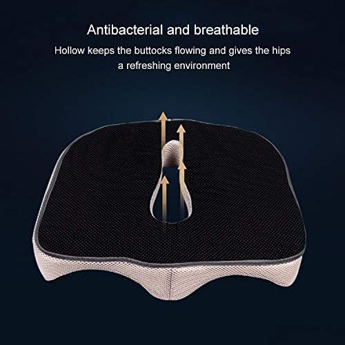 Xingrui Coussin Coccygeal Orthodontic Cushion Cushion Chaise De Bureau, Taille: 45x38x13cm Xingrui