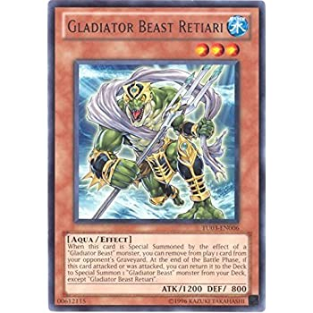 Yu-Gi-Oh! - Gladiator Beast Retiari (TU03-EN006) - Turbo Pack 3 - Promo Edition - Rare