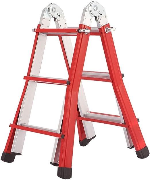 AA-SS-Ladder Escalera Multiusos de Fibra de Vidrio con clasificación de Trabajo Pesado de 150 kg, Escalera de extensión: Amazon.es: Hogar