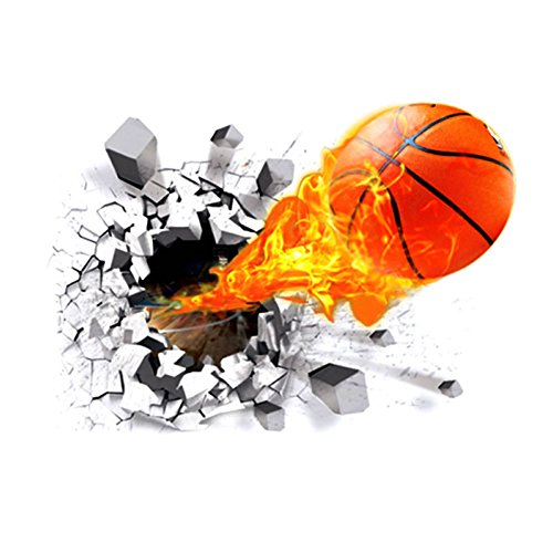 Generic Self adhesive Removable Decorator Basketball