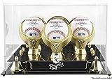 Kansas City Royals Golden Classic Three Baseball Logo Display Case