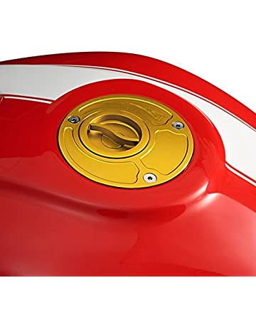 2 pezzi stemma adesivo cromato per serbatoio della benzina Yamaha Drag Star Artudatech Protezione per serbatoio moto adesivo per serbatoio del gas
