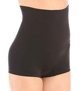 dcf2e0159d1e Self Expressions Slim Waister High Waisted Boyshort (00525) at Amazon Women's  Clothing store:
