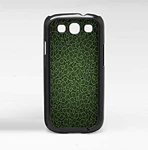 Green Leaves Pattern Hard Snap on Phone Case (Galaxy s3 III)
