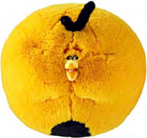 Angry Birds 8 Inch DELUXE Plush Orange Globe Bird BLOWN UP!