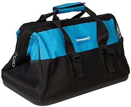 Silverline 268974 Tool Bag Hard Base Wide Mouth 406 x 230 x 200mm