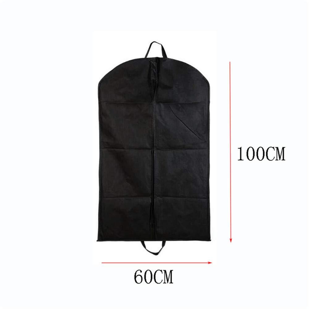 Housse Protection Portable pour Costume 2pcs Housse de V/êtements 110cm /× 60cm