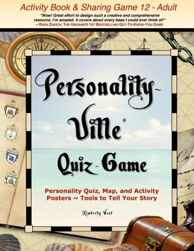 Personality-Ville Quiz-Game: Personality Quiz, Map, and Activity Posters ~ Tools to Tell Your Story (Club Personality-Ville) (Volume - Personality Unique Quiz