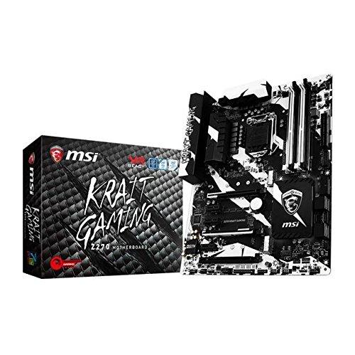Z270 KRAIT GAMING Desktop Motherboard - Intel Z270 Chipset -