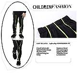 Boys & Girls Compression Pants Running Tights Capri Pants Base layer Leggings