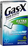 Gas-X Thin Strips Extra Strength Peppermint 30 Each (Pack of 6)