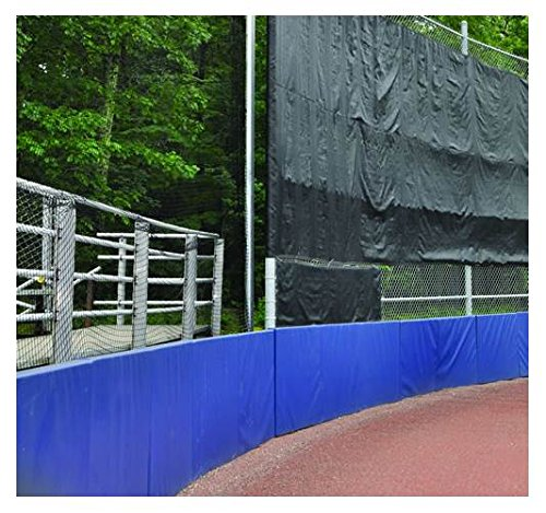 Jaypro Sports Backstop Padding in Royal Blue (120 in. W x 48 in. H (37 lbs.)) by Jaypro Sports