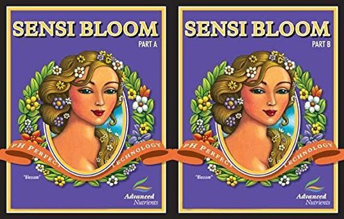 Advanced Nutrients Sensi Bloom Part A and B 23 Liter/ 6 Gallon Set Flower Stage by Advanced Nutrients