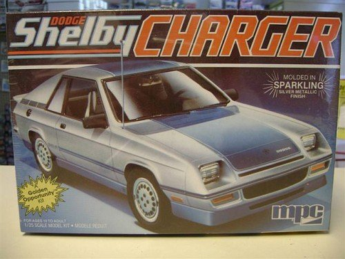 MPC 1-0876 1984 Dodge Shelby Charger 1/25 Scale Plastic Model Kit