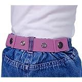 Dapper Snapper Baby & Toddler Adjustable Cinch Belts (Light Pink)