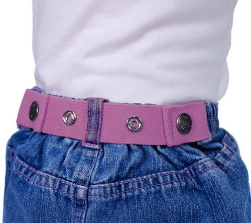 Dapper Snapper Baby & Toddler Adjustable Cinch Belts ~ Many Colors (Lt Pink)